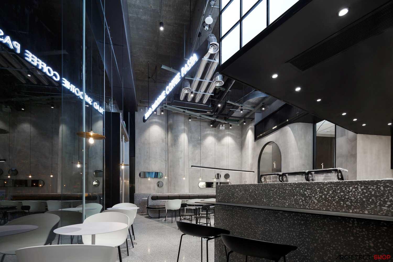 طراحی کافه رستوران در چین - JOY BOX Restaurant 6