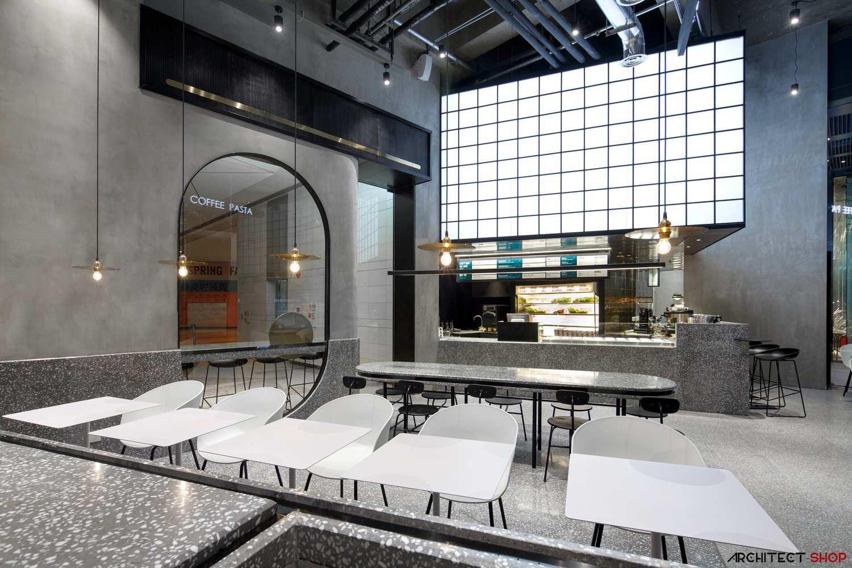 طراحی کافه رستوران در چین - JOY BOX Restaurant 7