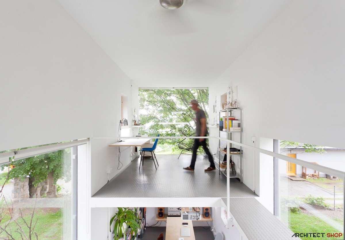 طراحی 50 نمونه دفتر کار مدرن خانگی با ایده های الهام بخش - Modern Home Office 15
