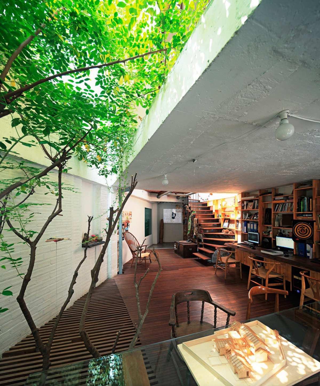 طراحی 50 نمونه دفتر کار مدرن خانگی با ایده های الهام بخش - Modern Home Office 16