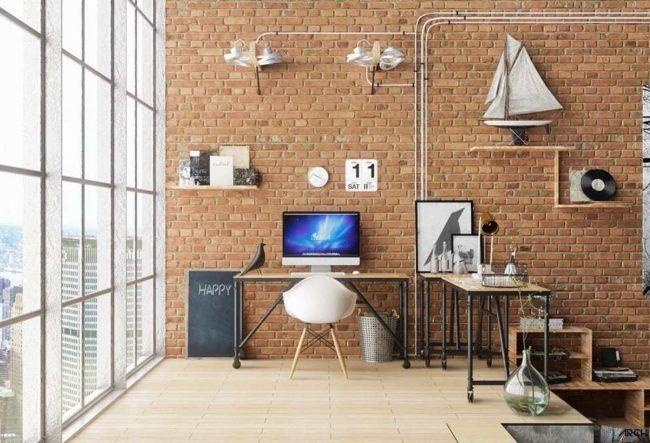 طراحی 50 نمونه دفتر کار مدرن خانگی با ایده های الهام بخش