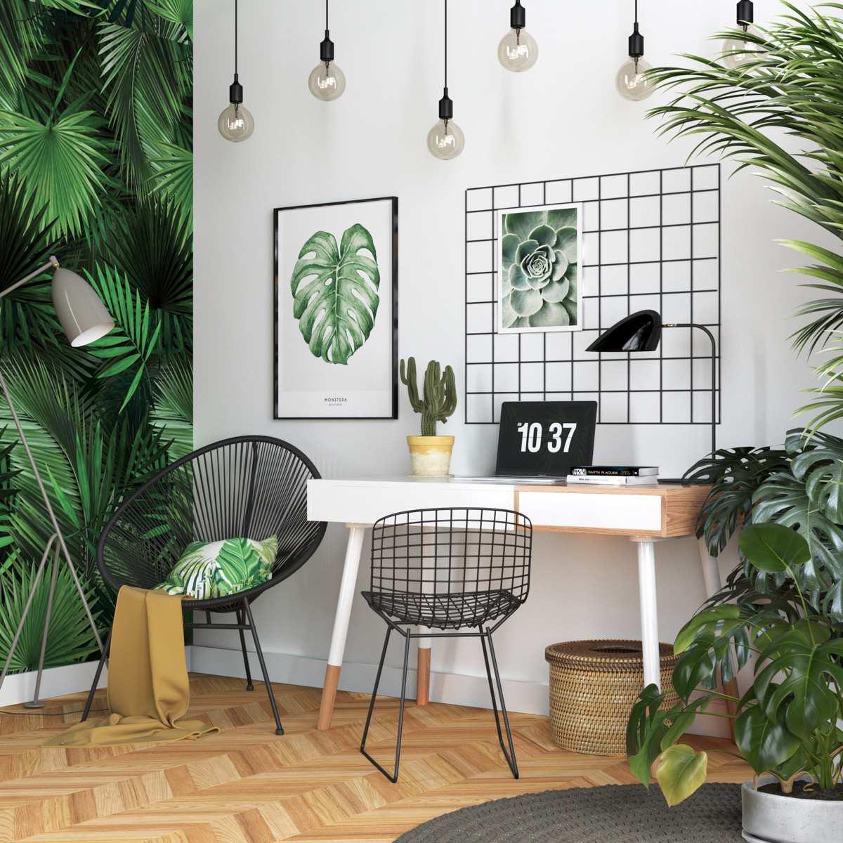 طراحی 50 نمونه دفتر کار مدرن خانگی با ایده های الهام بخش - Modern Home Office 37