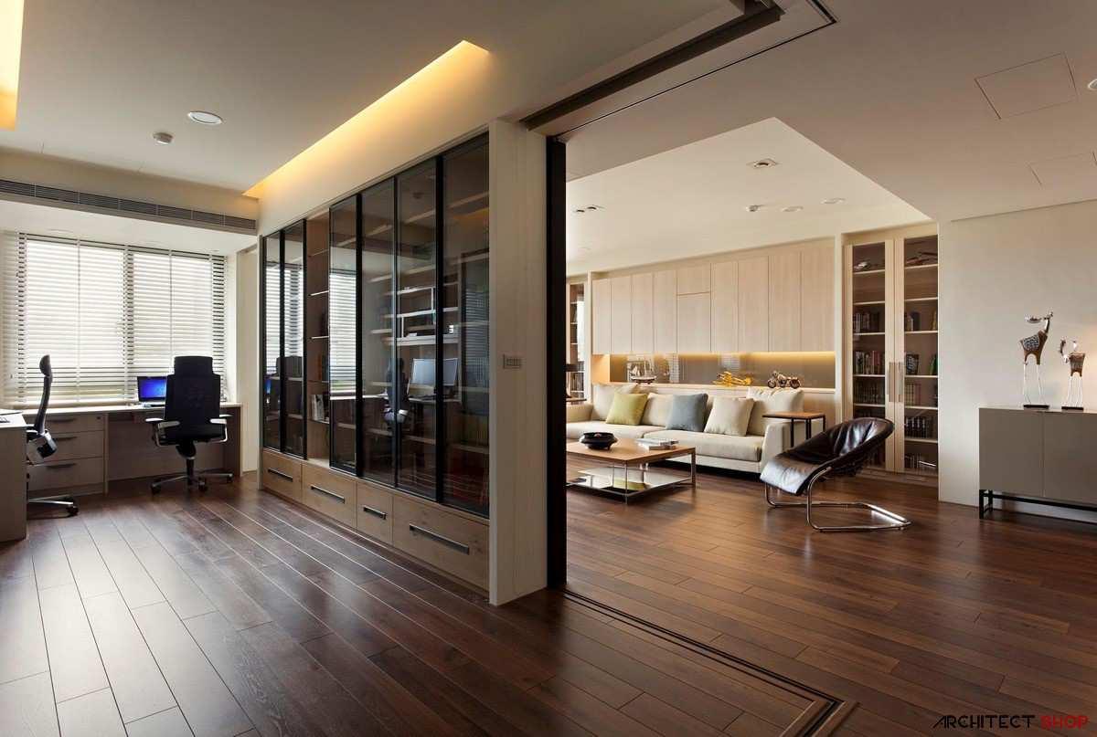 طراحی 50 نمونه دفتر کار مدرن خانگی با ایده های الهام بخش - Modern Home Office 9