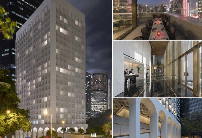 تغییر کاربری ساختمان اداری به هتل در هنگ کنگ