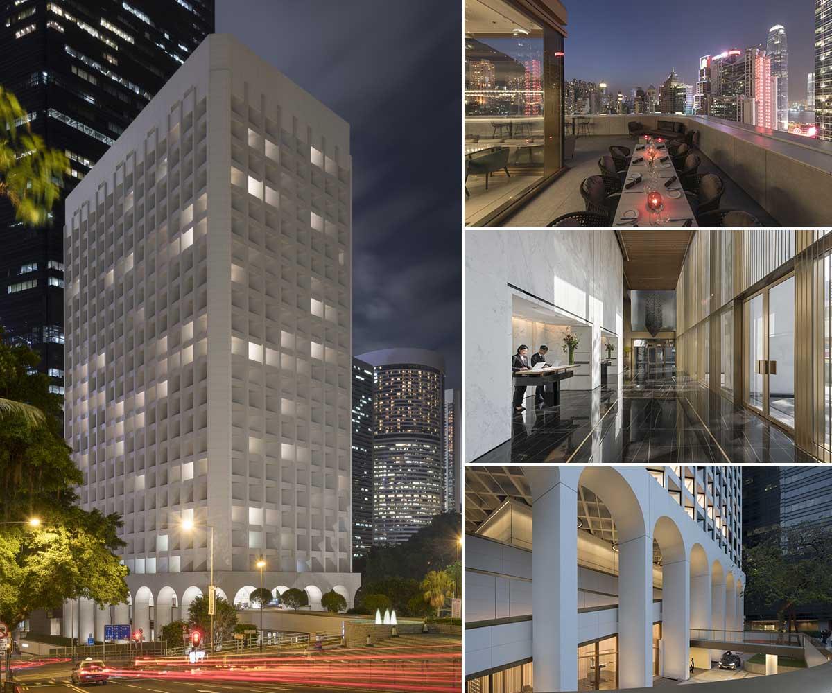 تغییر کاربری ساختمان اداری به هتل در هنگ کنگ - Murray Hotel 27