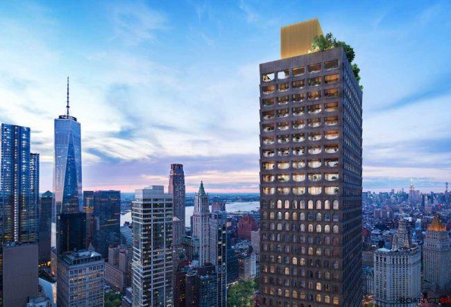طراحی برج مسکونی توسط David Ajayah