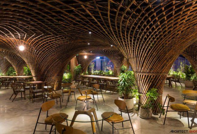 طراحی کافی شاپ در ویتنام