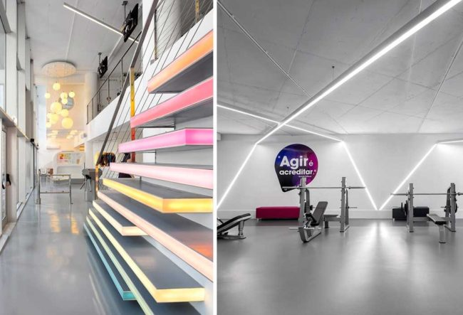 طراحی باشگاه بدنسازی در پرتغال