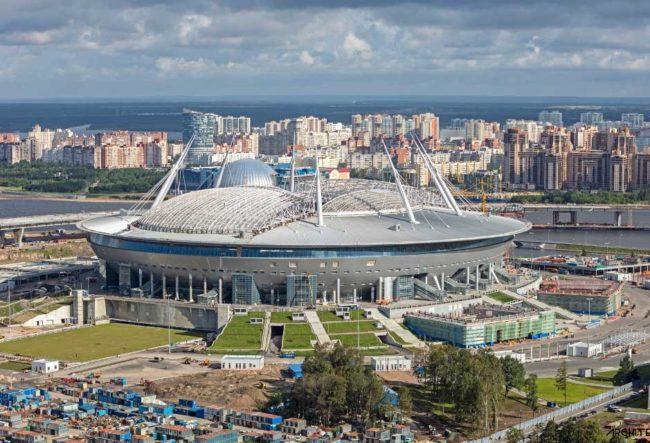 معرفی 12 استادیوم میزبان جام جهانی 2018 روسیه