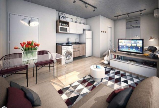 طراحی 5 استودیو آپارتمان با دکوراسیون زیبا