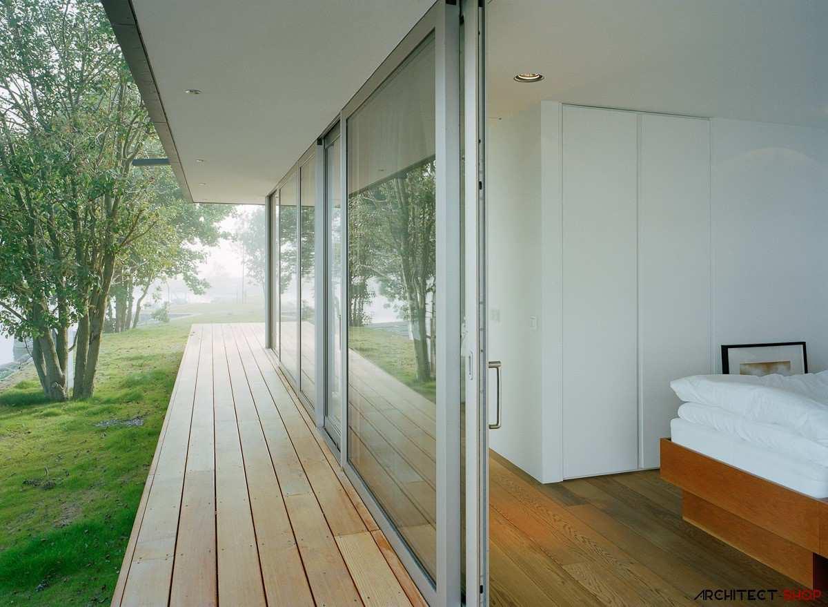 طراحی ویلای لوکس در جزیره خصوصی سوئد - Villa Kymmendo 13