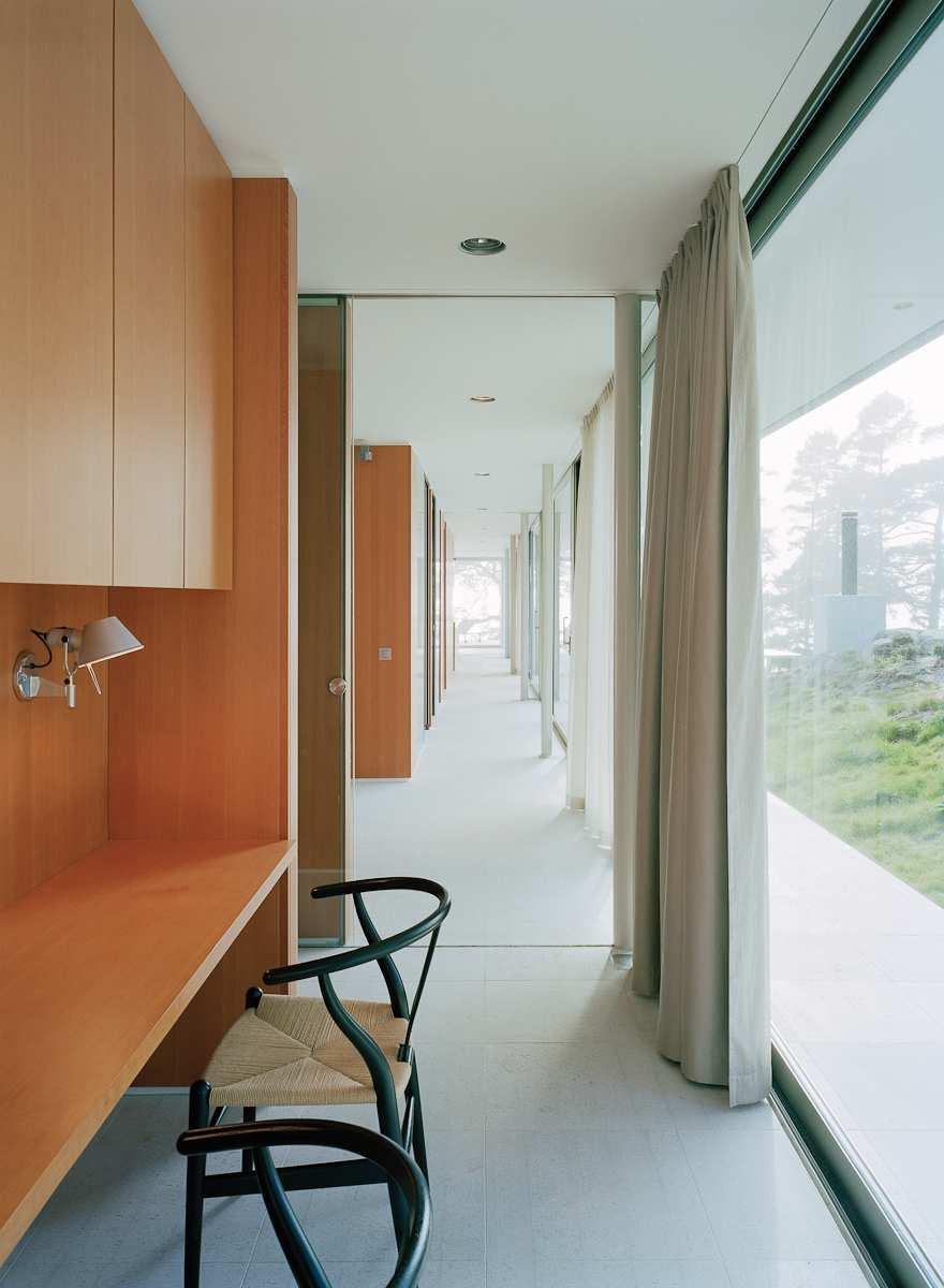 طراحی ویلای لوکس در جزیره خصوصی سوئد - Villa Kymmendo 15