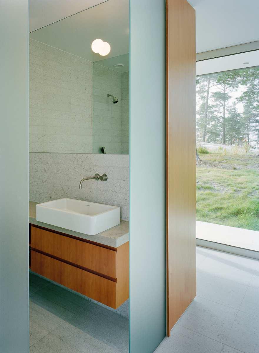 طراحی ویلای لوکس در جزیره خصوصی سوئد - Villa Kymmendo 18