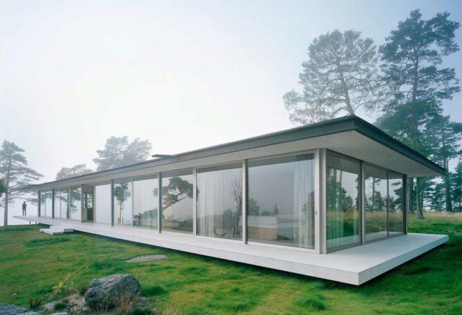 طراحی ویلای لوکس در جزیره خصوصی سوئد