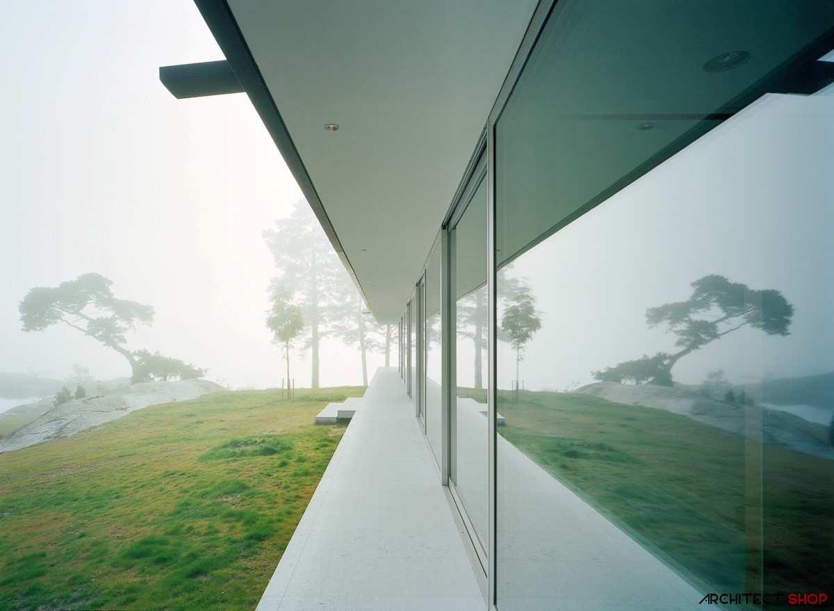طراحی ویلای لوکس در جزیره خصوصی سوئد - Villa Kymmendo 7