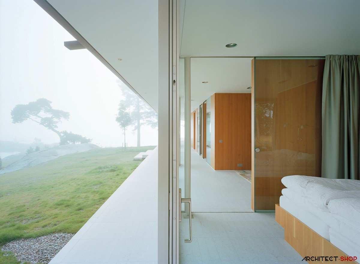 طراحی ویلای لوکس در جزیره خصوصی سوئد - Villa Kymmendo 9