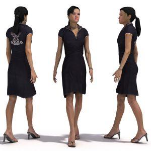 دانلود مدل سه بعدی انسان