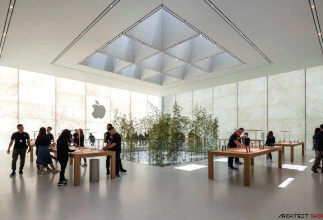 طراحی فروشگاه جدید اپل در چین