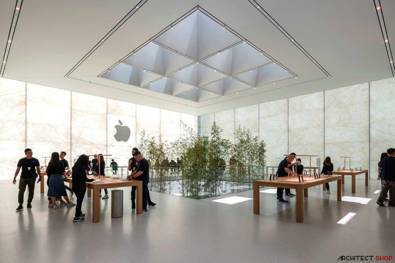 طراحی فروشگاه جدید اپل در چین - Apple Store 4