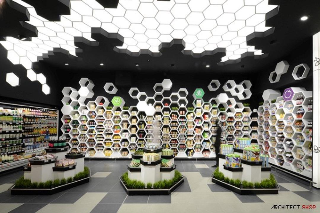 طراحی خلاقانه سوپرمارکت در بلغارستان - FANTASTIKO21 Supermarket 14