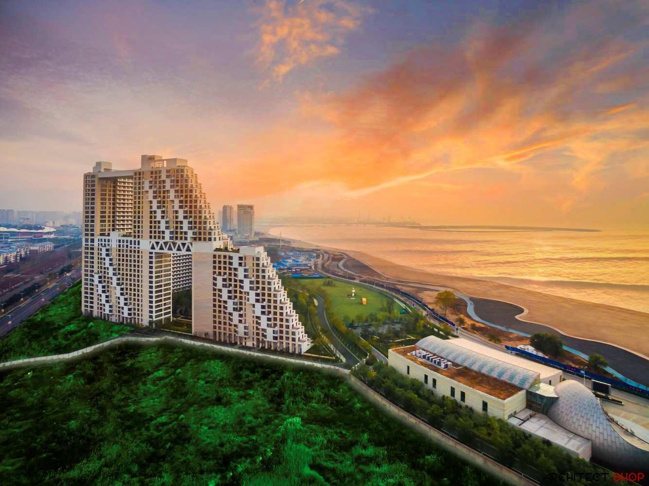 طراحی مجتمع مسکونی ساحلی در چین - Qinhuangdao Residential Complex 19