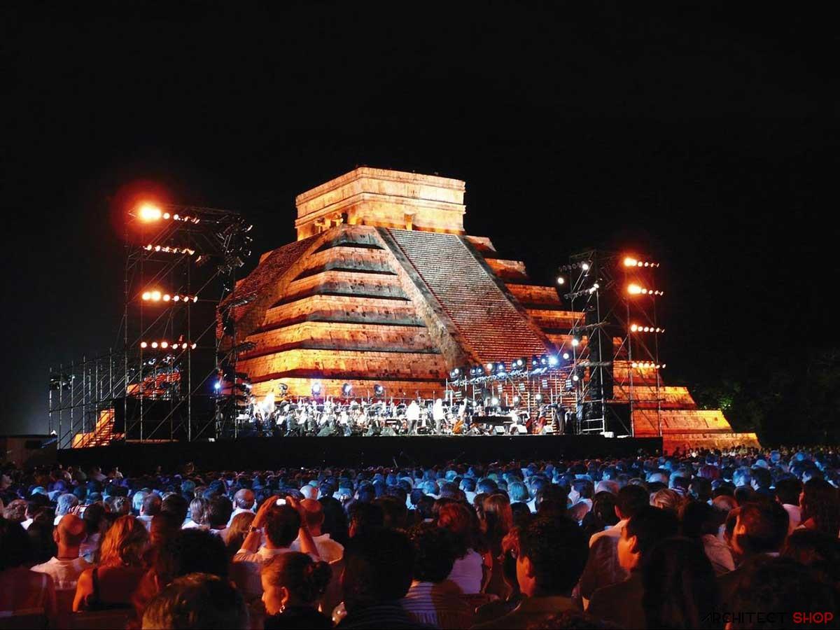 معرفی 8 نمونه از مکان های تاریخی برای برگزاری کنسرت راک - Rock concert hall 5
