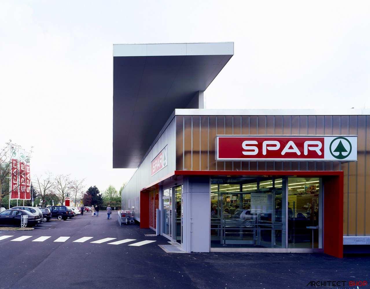طراحی داخلی سوپرمارکت