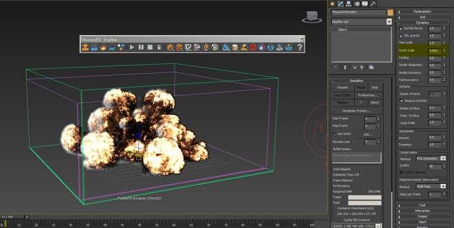 آموزش Fume FX در 3ds Max