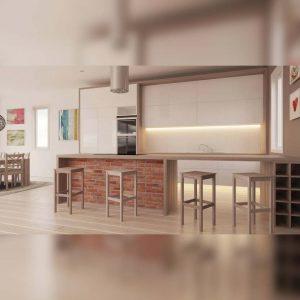 آموزش طراحی آشپزخانه در 3ds Max - kitchen design 3dsmax end 300x300