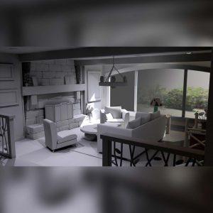 آموزش مدل سازی و طراحی داخلی در Maya - modeling interiors maya 1 300x300