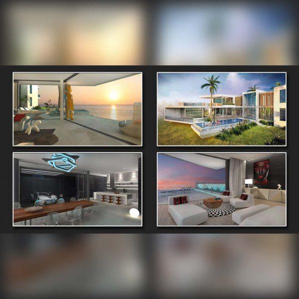 آموزش رندرینگ معماری در 3ds Max و VRay و فتوشاپ - rendering architecture vray 600x600