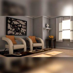 آموزش حرفه ایی رندر صحنه داخلی با Vray در maya - rendering interiors v ray maya 300x300