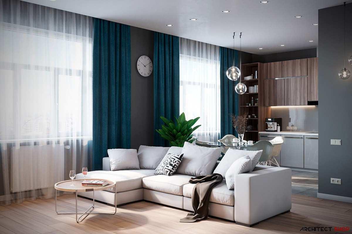 طراحی داخلی 3 نمونه آپارتمان با تم خاکستری - Grey Based Decor 21