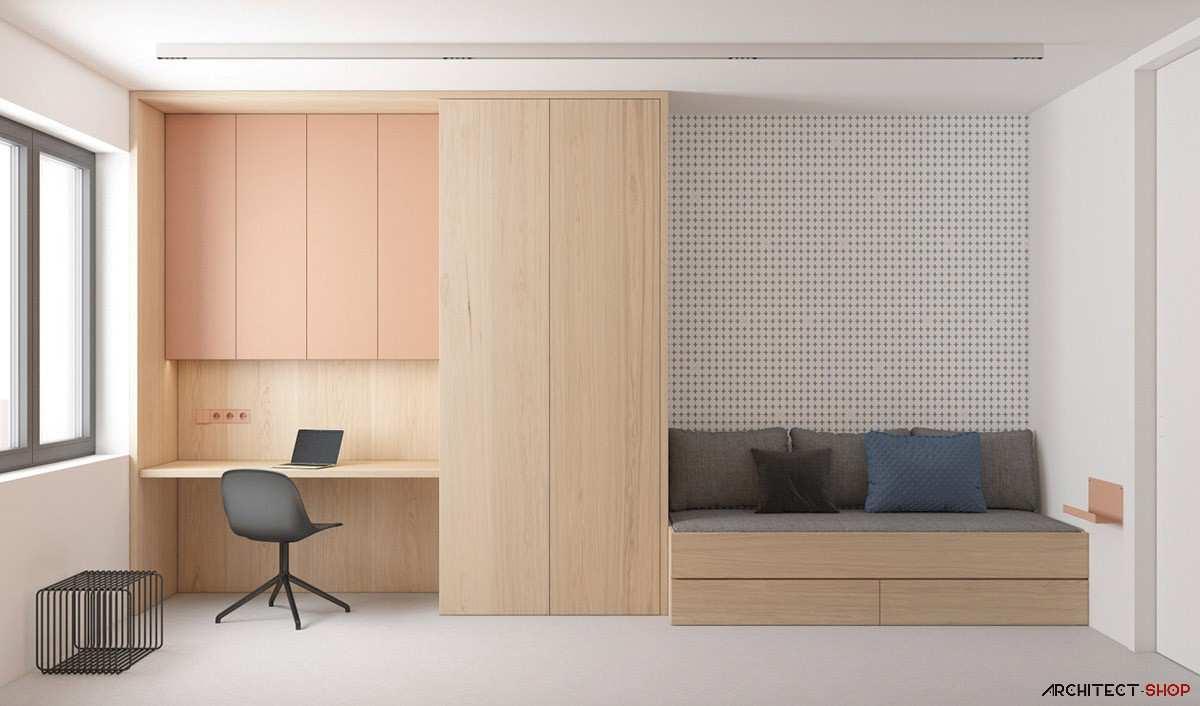 طراحی داخلی 3 نمونه آپارتمان با تم خاکستری - Grey Based Decor 211