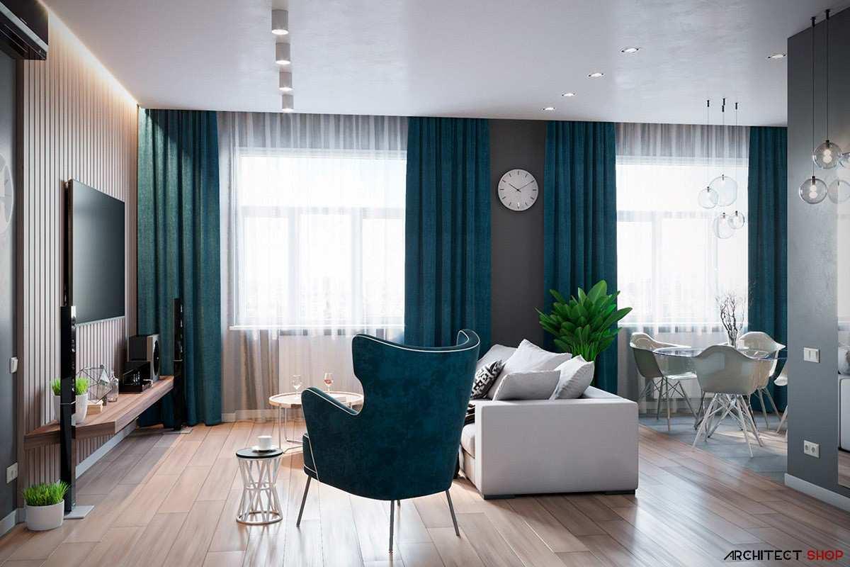 طراحی داخلی 3 نمونه آپارتمان با تم خاکستری - Grey Based Decor 41