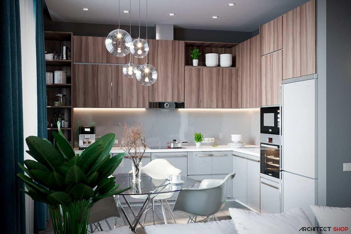 طراحی داخلی 3 نمونه آپارتمان با تم خاکستری - Grey Based Decor 61