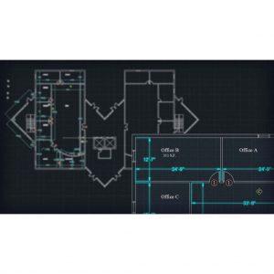 آموزش حاشیه نویسی در نقشه های معماری اتوکد - annotating autocad 300x300