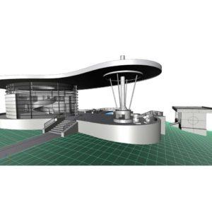 آموزش طراحی سایت پلان در Rhino - architectural site rhino 300x300