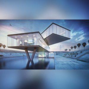 آموزش طراحی صحنه معماری در Maya و رندر VRay - architectural visualization maya v ray 300x300