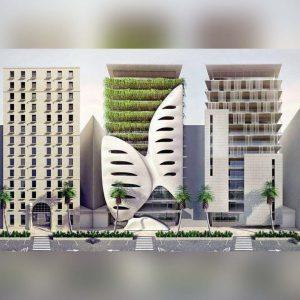 آموزش حرفه ایی طراحی 5 نمای معماری در 3ds Max و Vray - architecture facades 3dsmax 300x300