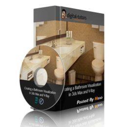 آموزش طراحی حمام در 3ds Max