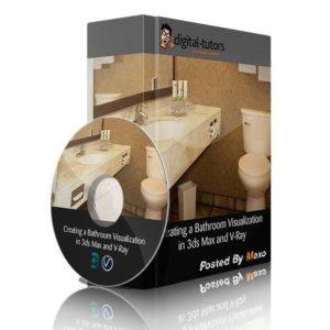 آموزش طراحی حمام در 3ds Max - bathroom 3dsmax 300x300