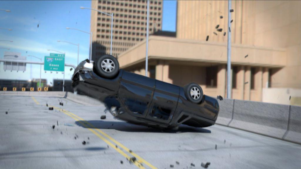 شبیه سازی تصادف اتومبیل در Maya