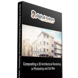 آموزش کامپوزیت رندر در فتوشاپ و 3ds Max