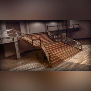 آموزش طراحی و مدل سازی راه پله سفارشی در Revit - creating staircase revit 300x300