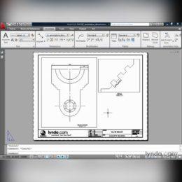 آموزش اندازه گذاری پلان درAutoCAD