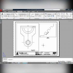 آموزش کار با ابزار های اندازه گذاری و ابعاد در اتوکد - dimensions autocad 300x300