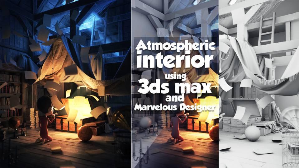 طراحی داخلی در Marvelous Designer