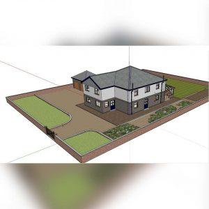 آموزش اصول نرم افزار SketchUp برای معماری - learning sketchup architecture 300x300