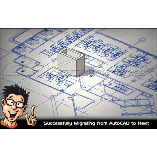 آموزش انتقال فایل اتوکد به Revit - migrating autocad revit 600x600